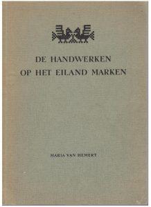 De handwerken op het eiland Marken