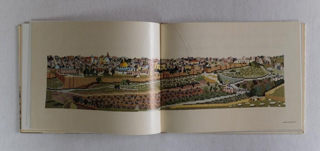 borduurwerk Jeruzalem