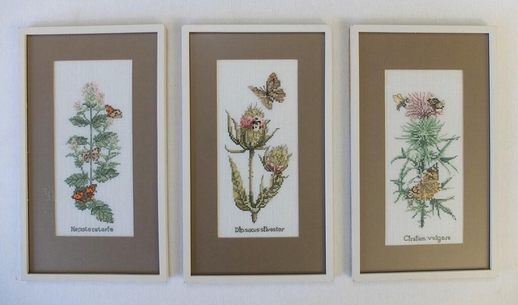 Drie schilderijtjes M. Bastin