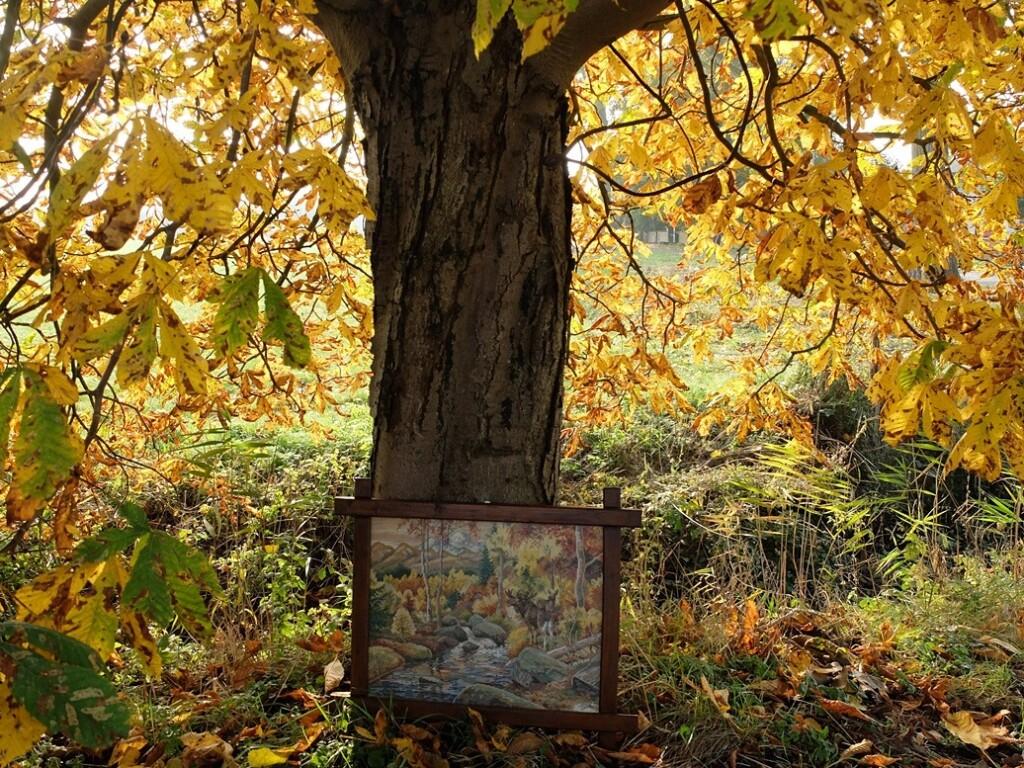 tapisserie schilderij
