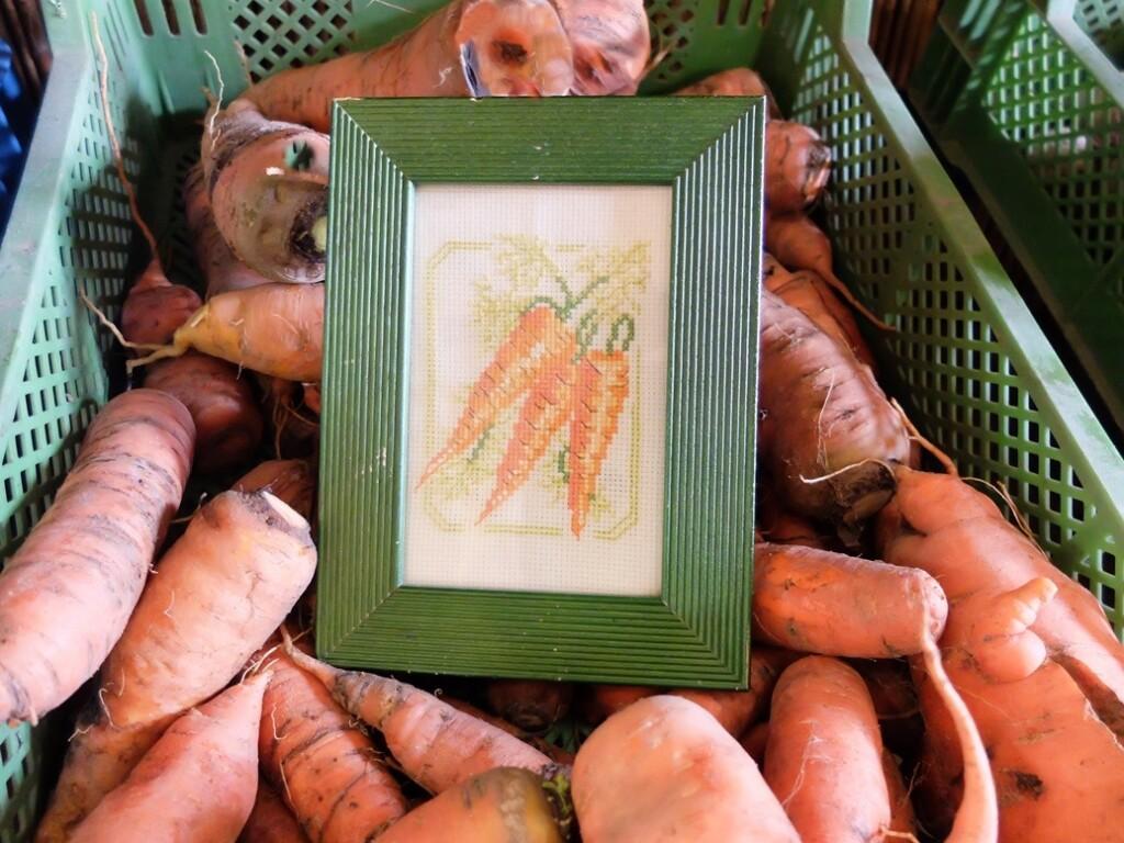 geborduurde wortels