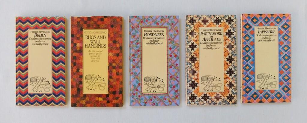 Serie heerlijk handwerk boeken