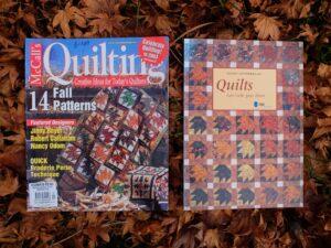 Twee tijdschriften quilts
