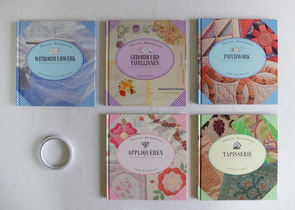 Vijf boeken creatief handwerken