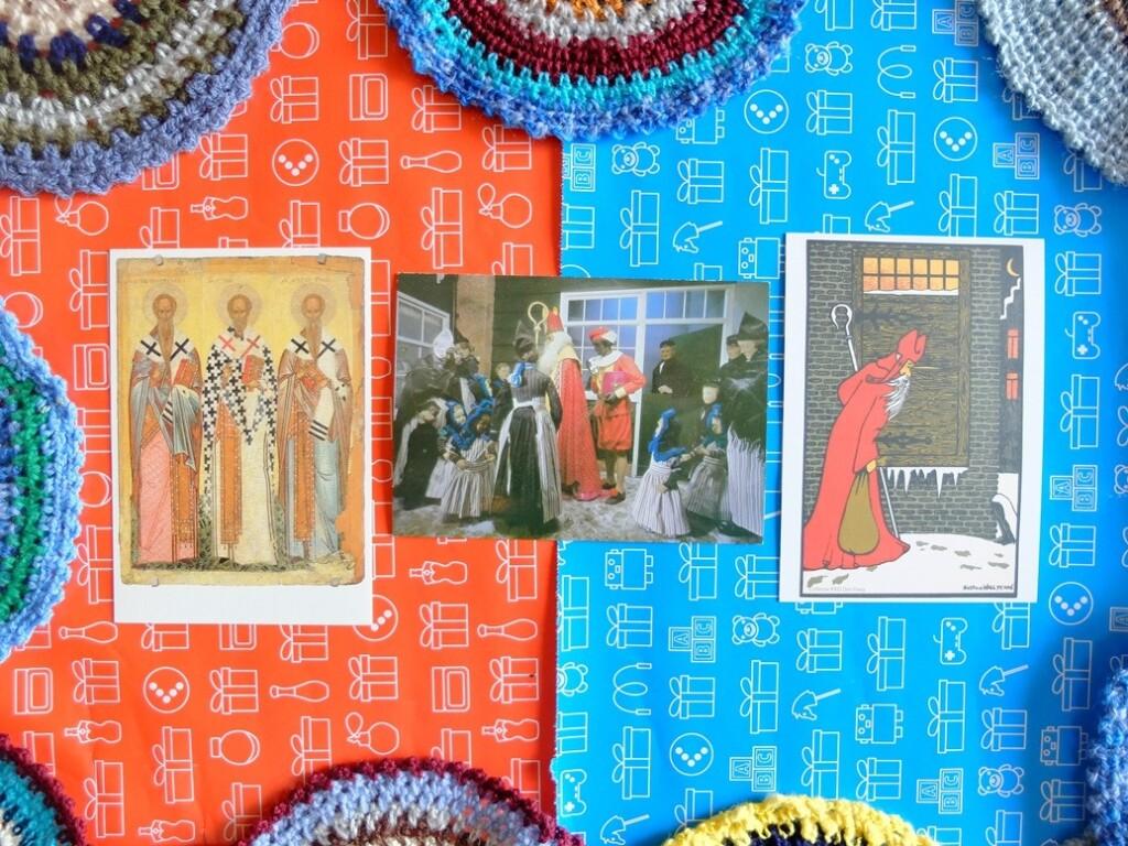 Ansichtkaarten Sinterklaas