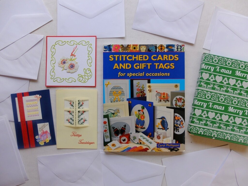 boek stitched cards