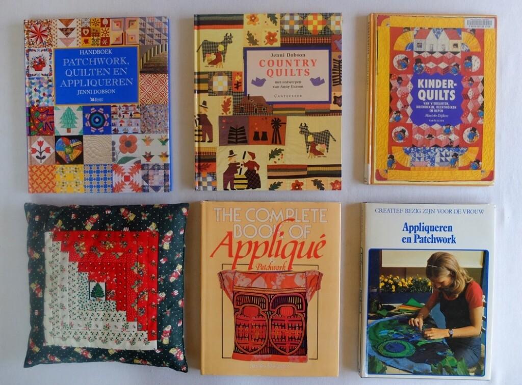 Boeken Patchwork en Appliqueren