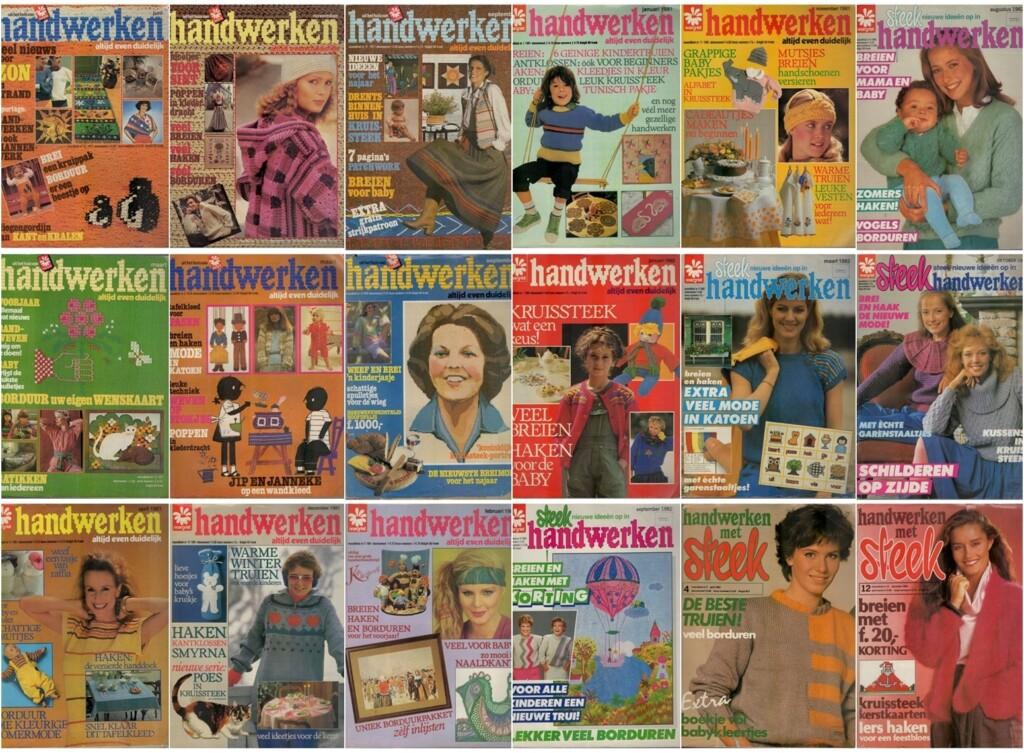 Tijdschriften Handwerken Steek