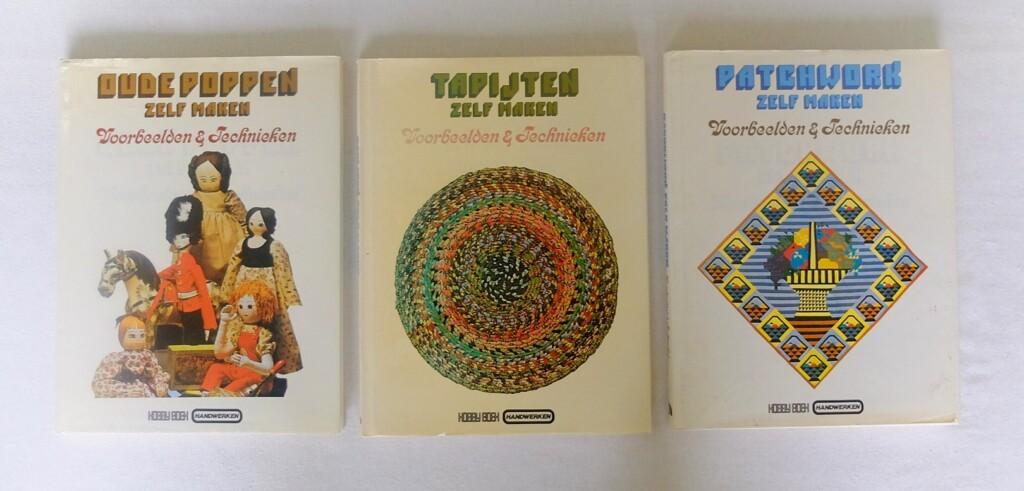 handwerkenboeken serie voorbeeldentechnieken