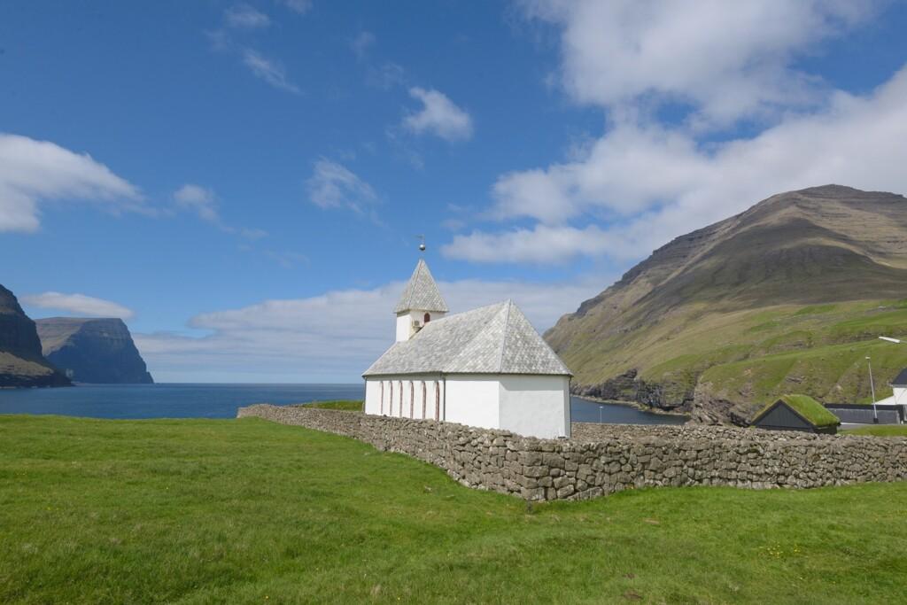 Kerkje Faroër eiland