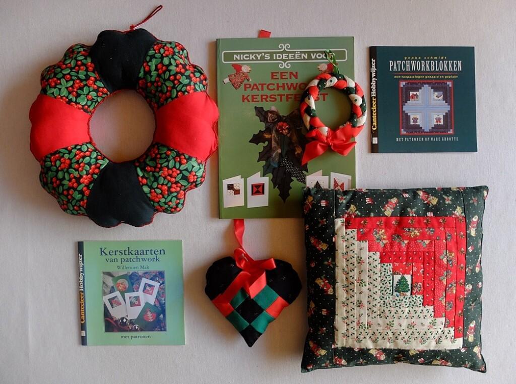 patchworkboeken kerst