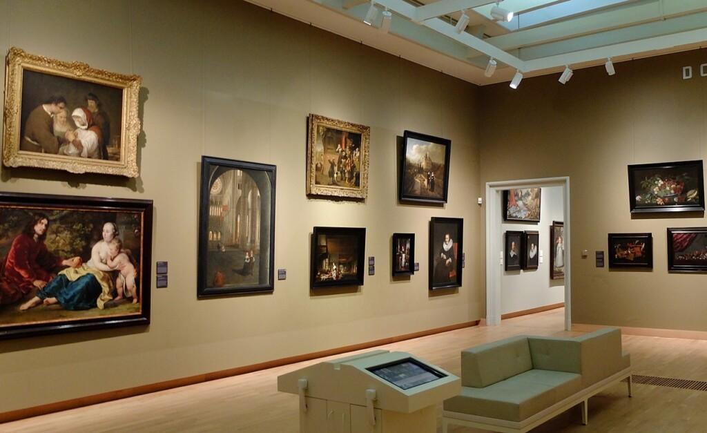 Schilderijen in museum Dordrecht