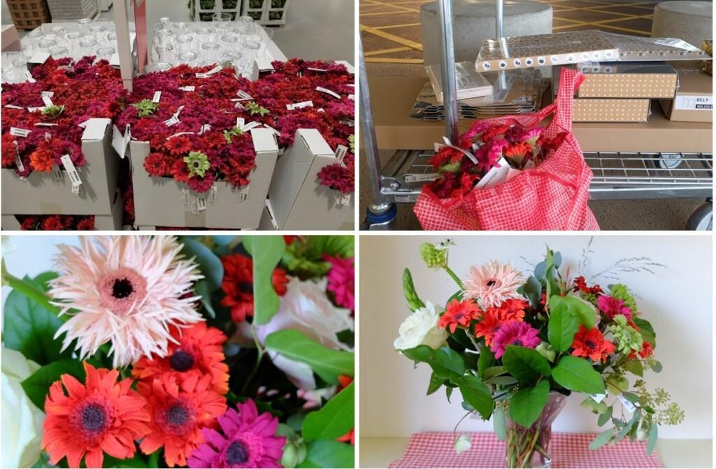 Ikea bloemen