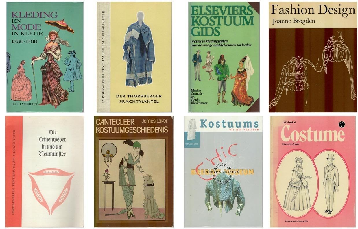 Boek kostuumgeschiedenis