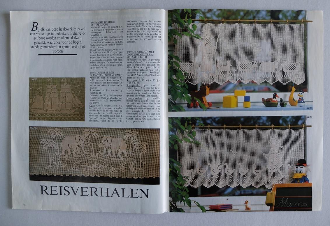 Tijdschrift Burda Special Filethaken