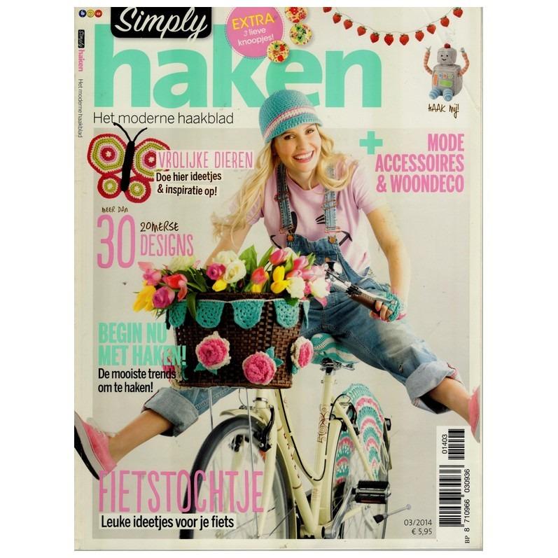Tijdschrift Simply Haken 2014