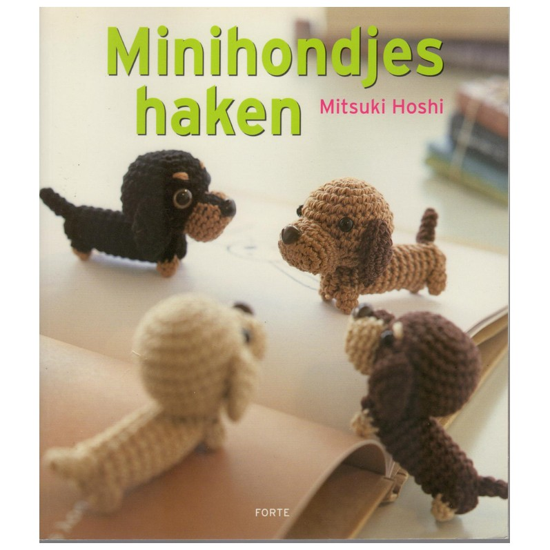 Boek Minihondjes Haken