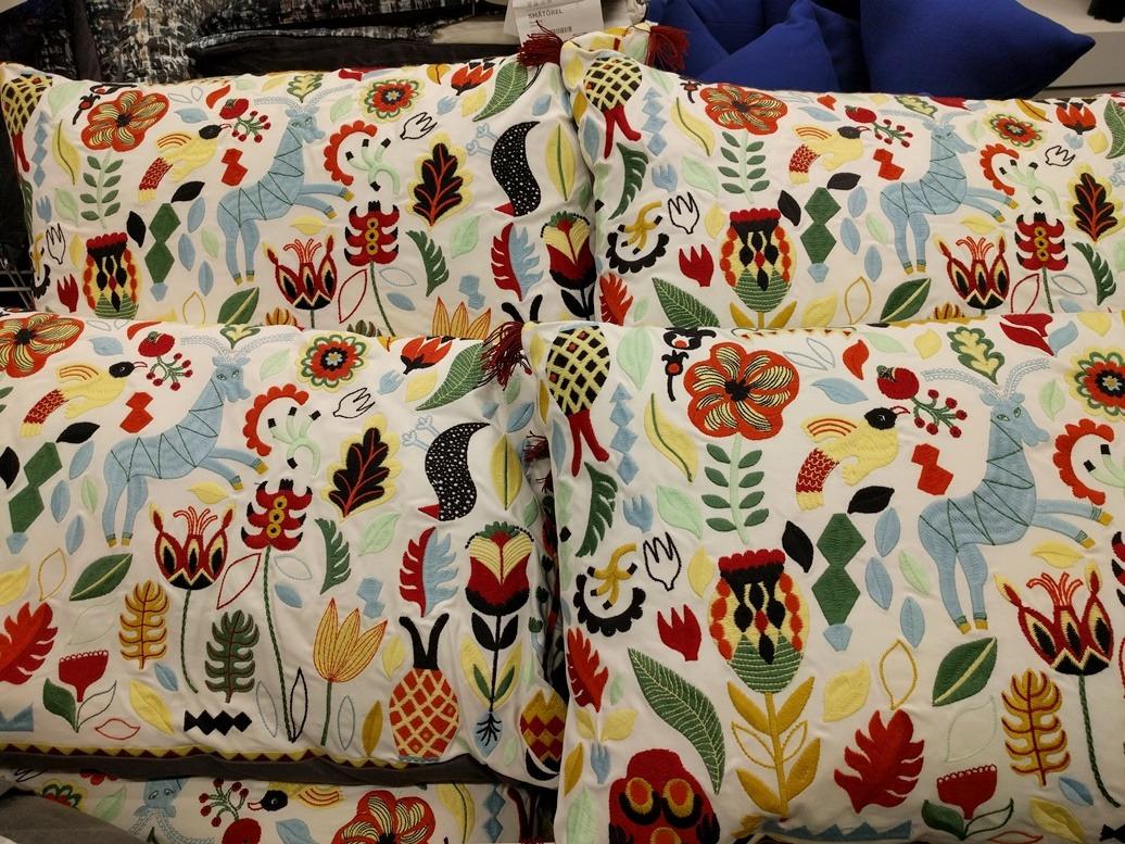 Kelim Kussens Ikea : Gele kussens ikea