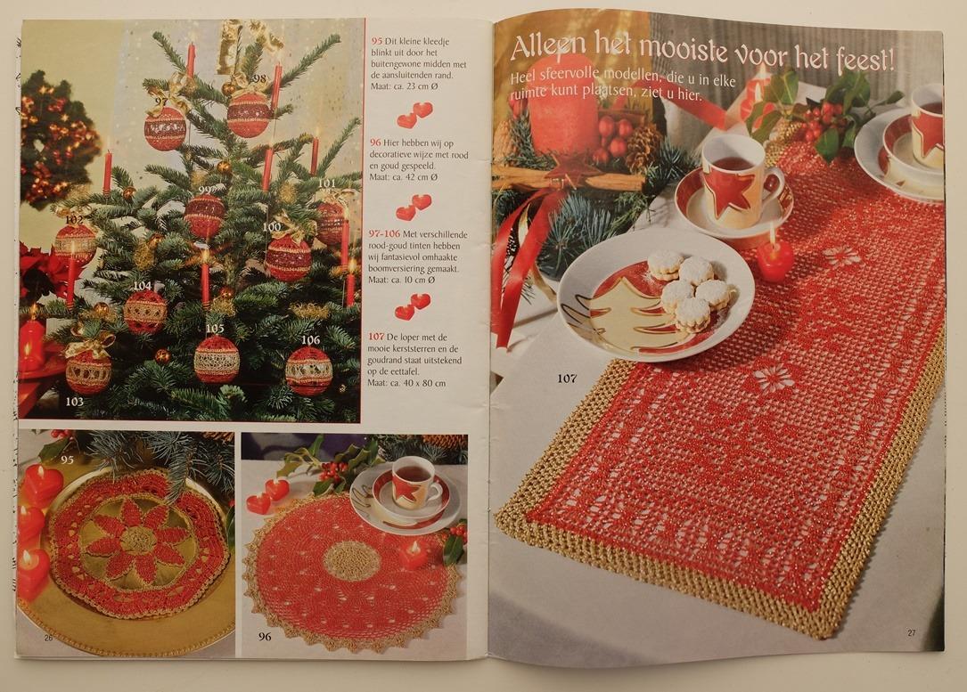 Tijdschrift Filethaken Kerst
