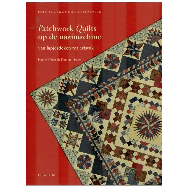 Patchwork Met De Naaimachine.Boek Patchwork Quilts Op De Naaimachine