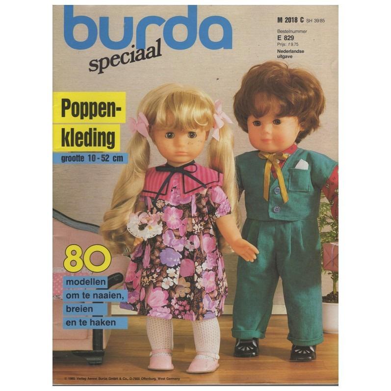 Tijdschrift Burda Poppenkleding