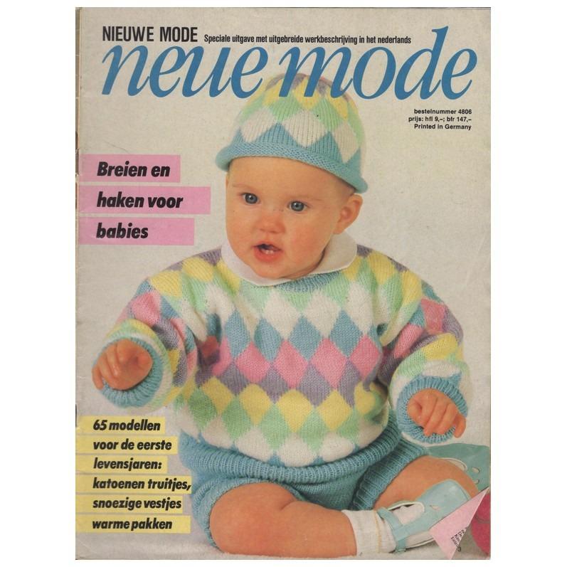 Tijdschrift Neue Mode Breien En Haken Voor Babies