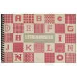 Boekje Letters in kruissteek