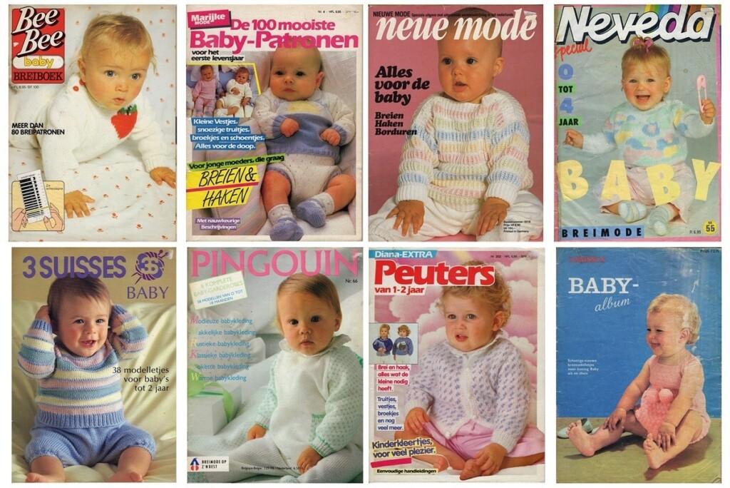 Tijdschriften baby breien
